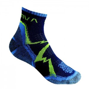 MOUNTAIN HIKING SOCKS BLUE/SULPHUR
