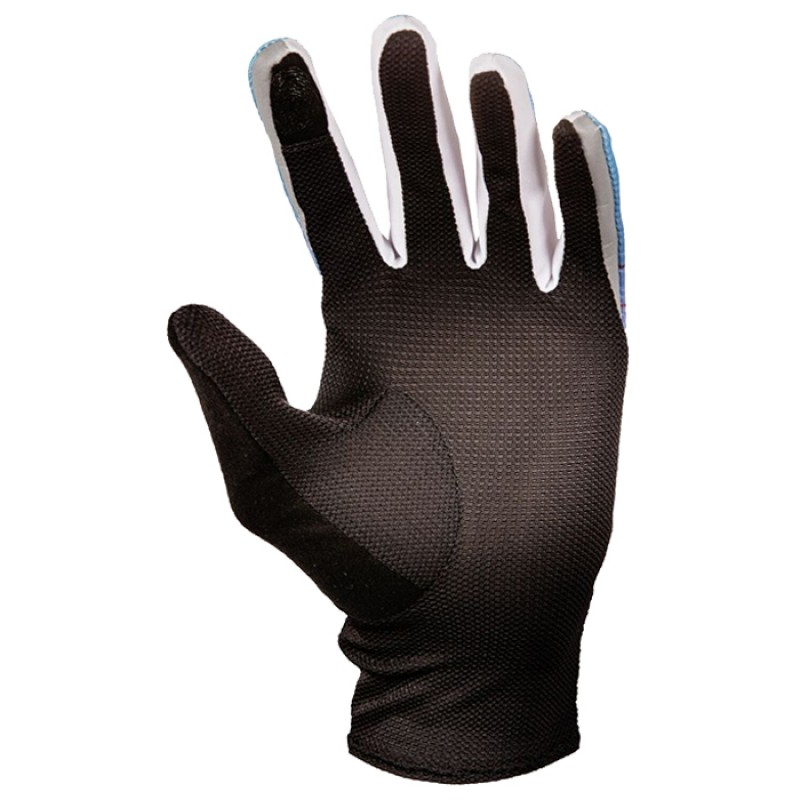 TRAIL GLOVES W MALIBU BLUE/BERRY