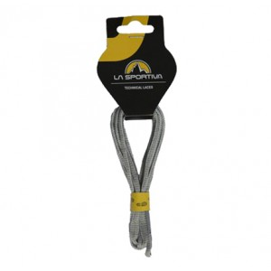 MOUNTAIN RUNNING LACES 132/52 WHITE/MID GREY