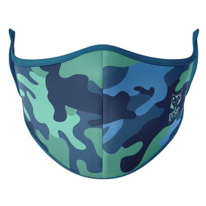 FACE MASK CAMO BLUE