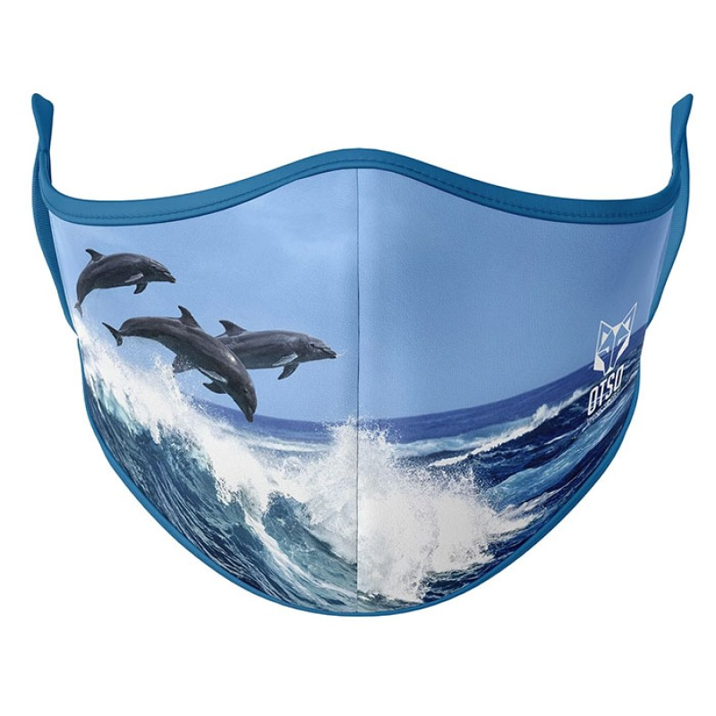 FACE MASK DOLPHINS