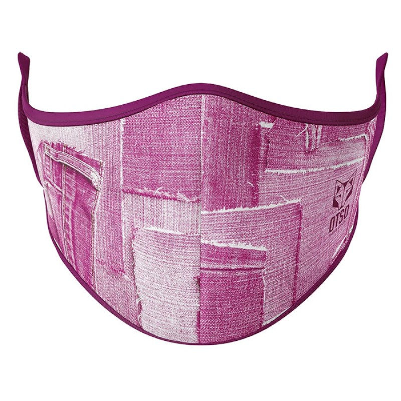 FACE MASK PINK JEANS