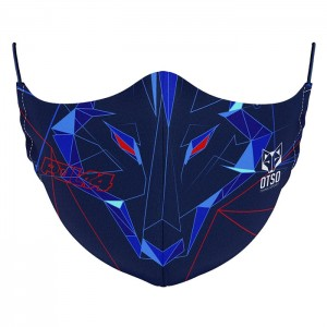 FACE MASK BLUE POL 44