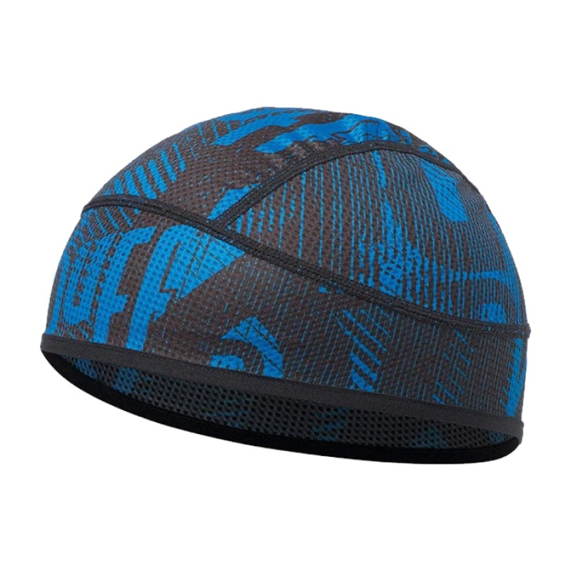 UNDERHELMET FLASH LOGO CAPE BLUE