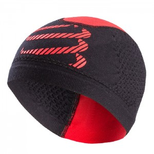 3D THERMO SEAMLESS BEANIE BLK/RED