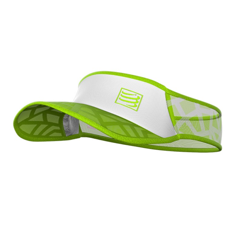 SPIDERWEB ULTRALIGHT VISOR WHITE/GREEN