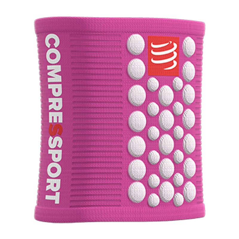 SWEATBAND 3D DOT WHITE/PINK
