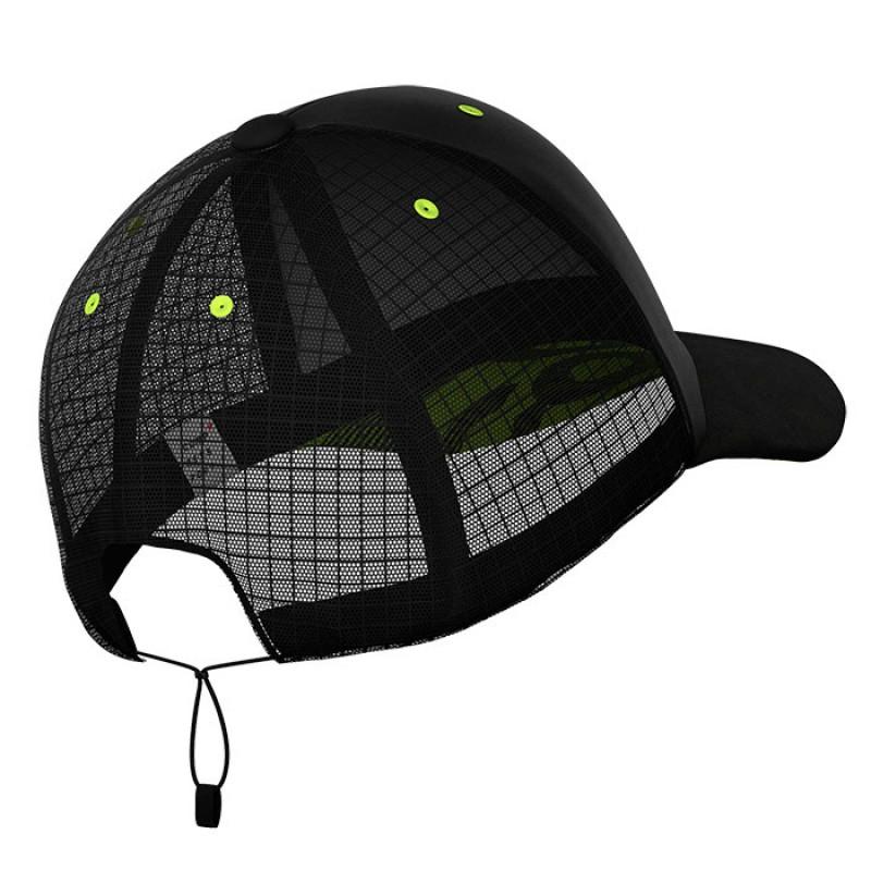 RACING TRUCKER CAP BLACK