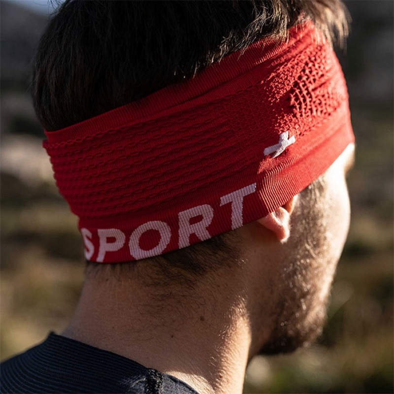 HEADBAND ON/OFF RED