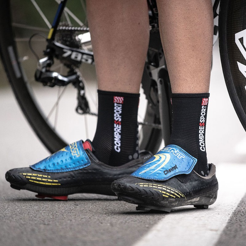SOCKS RACING SOCKS V3.0 BIKE BLACK