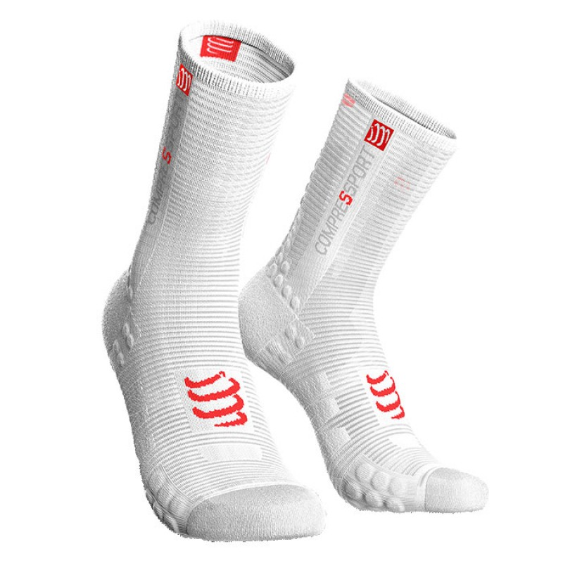 SOCKS RACING SOCKS V3.0 BIKE SMART WHITE