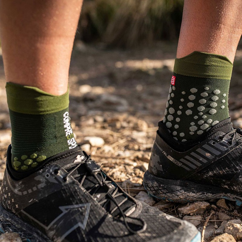 RACING SOCKS V3.0 TRAIL SMART STEALTH GREEN