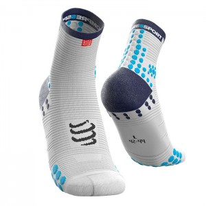 SOCKS PRO RACING SOCKS V3.0 RUN HIGH WHITE/BLUE