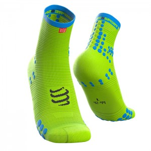 SOCKS PRO RACING SOCKS V3.0 RUN HIGH FLUO YELLOW