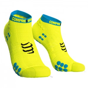 SOCKS RACING SOCKS V3.0 RUN LOW FLUO YELLOW
