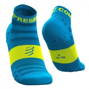 PRO RACING SOCKS V3.0 ULTRALIGHT RUN LOW BLUE