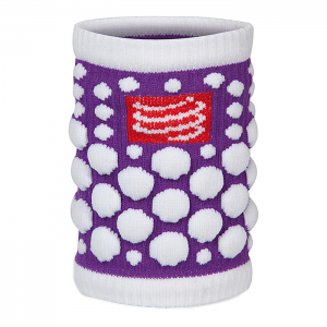 SWEATBAND 3D DOT FLUO PURPLE