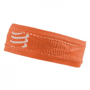 HEADBAND THIN ON/OFF FLUO ORANGE