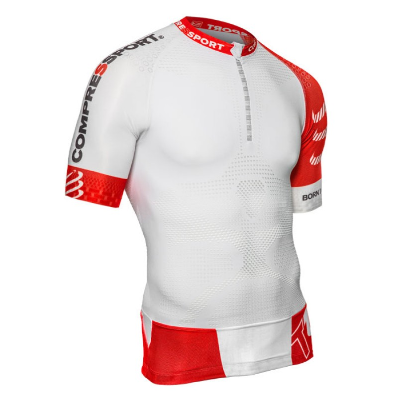 TRAIL RUNNING SHIRT V2 SS WHITE