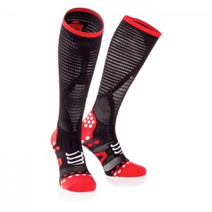 FULL SOCKS ULTRALIGHT RACING IRONMAN BLACK