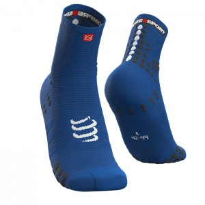 MEIAS PRO RACING SOCKS V3.0 RUN HIGH BLUE LOLITE