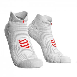SOCKS RACING SOCKS V3.0 RUNNING LOW SMART WHITE
