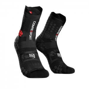 MEIAS RACING SOCKS V3.0 TRAIL SMART PRETO