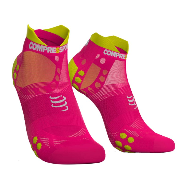 SOCKS RACING SOCKS V3.0 ULTRALIGHT RUNNING LOW FLUO PINK