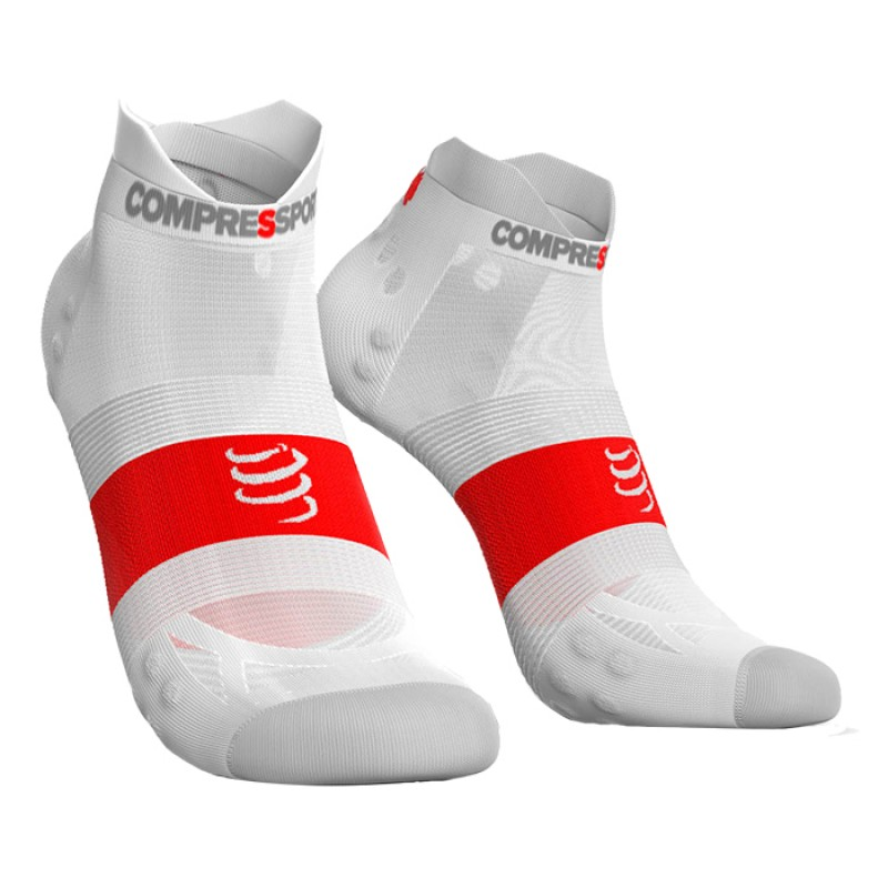 SOCKS RACING SOCKS V3.0 ULTRALIGHT RUNNING LOW SMART WHITE
