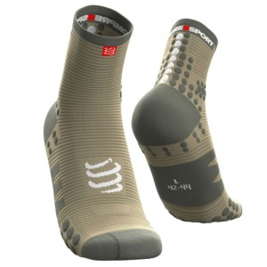 SOCKS PRO RACING SOCKS V3.0 RUN HIGH DUSTY OLIVE