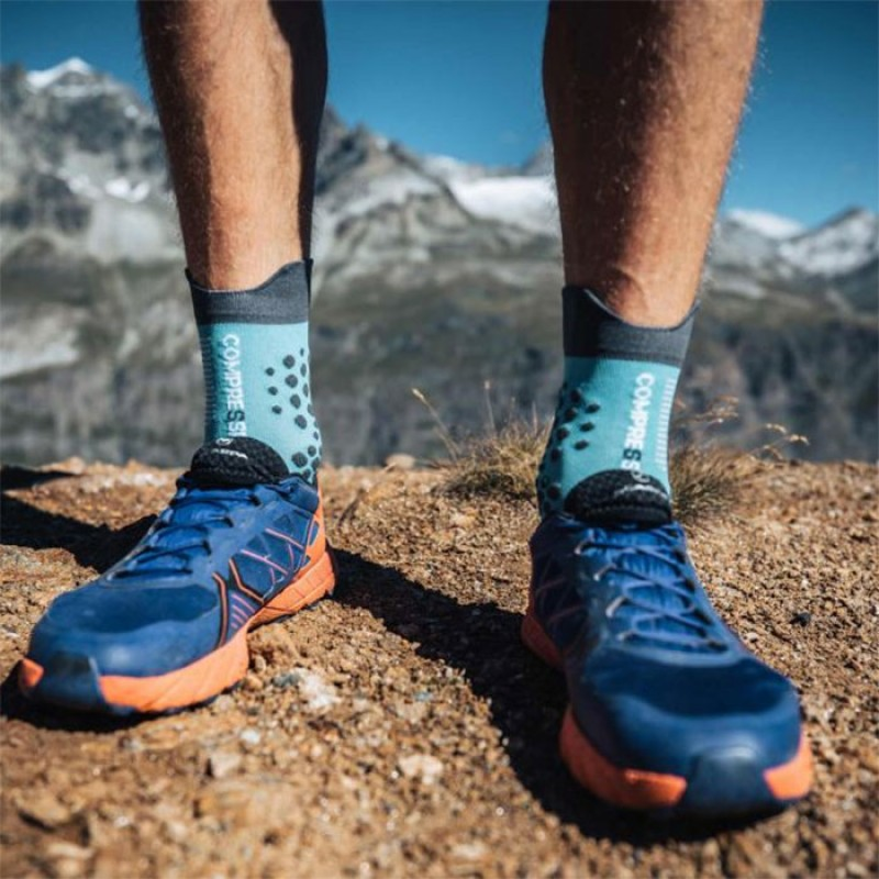 PRO RACING SOCKS V3.0 TRAIL BLUE NILE
