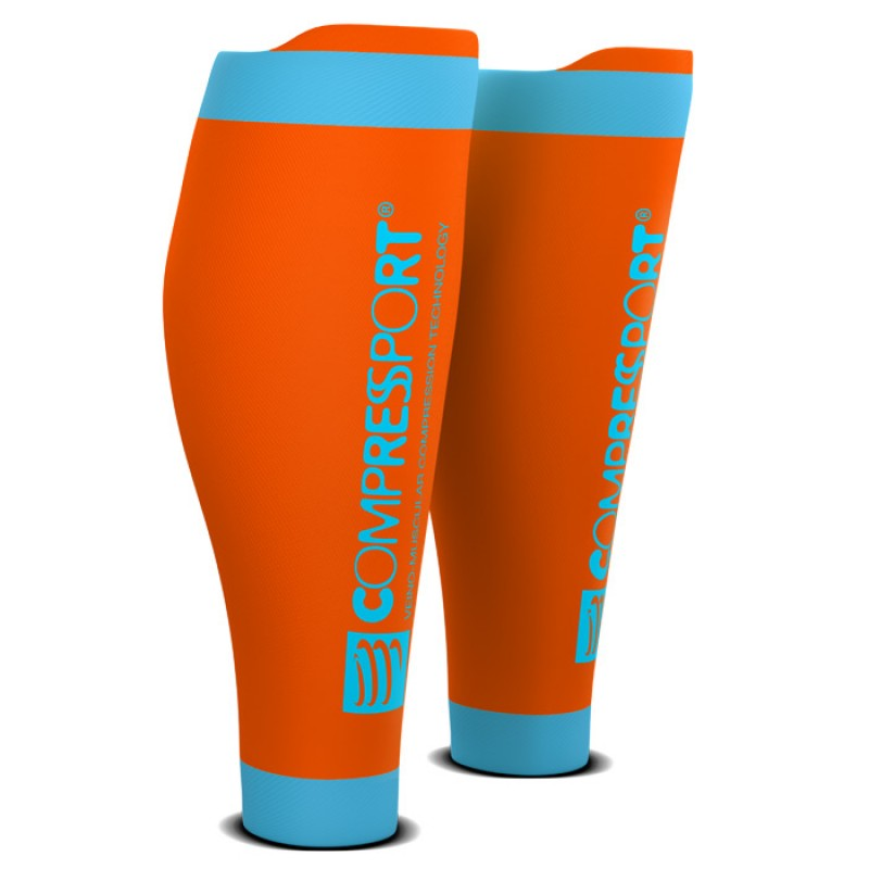 CALF SLEEVE R2 V2 ORANGE