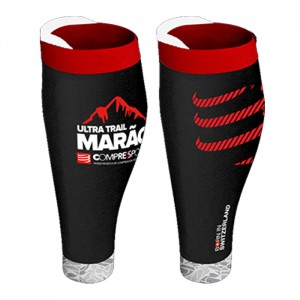 CALF SLEEVES R2 V2 ULTRA TRAIL MARAO - BLACK