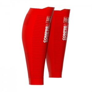 CALF SLEEVES R2 OXYGEN RED