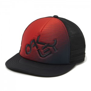 NOVELTY LOGO TRUCKER RED LINE