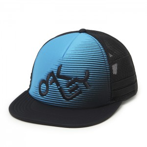 NOVELTY LOGO TRUCKER ATOMIC BLUE