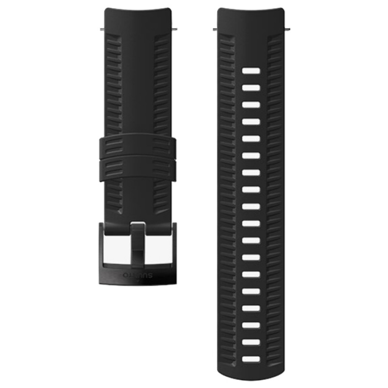 24MM ATHLETIC 2 SILICONE STRAP BLACK