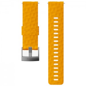 24MM EXPLORE 1 SILICONE STRAP AMBER GRAY