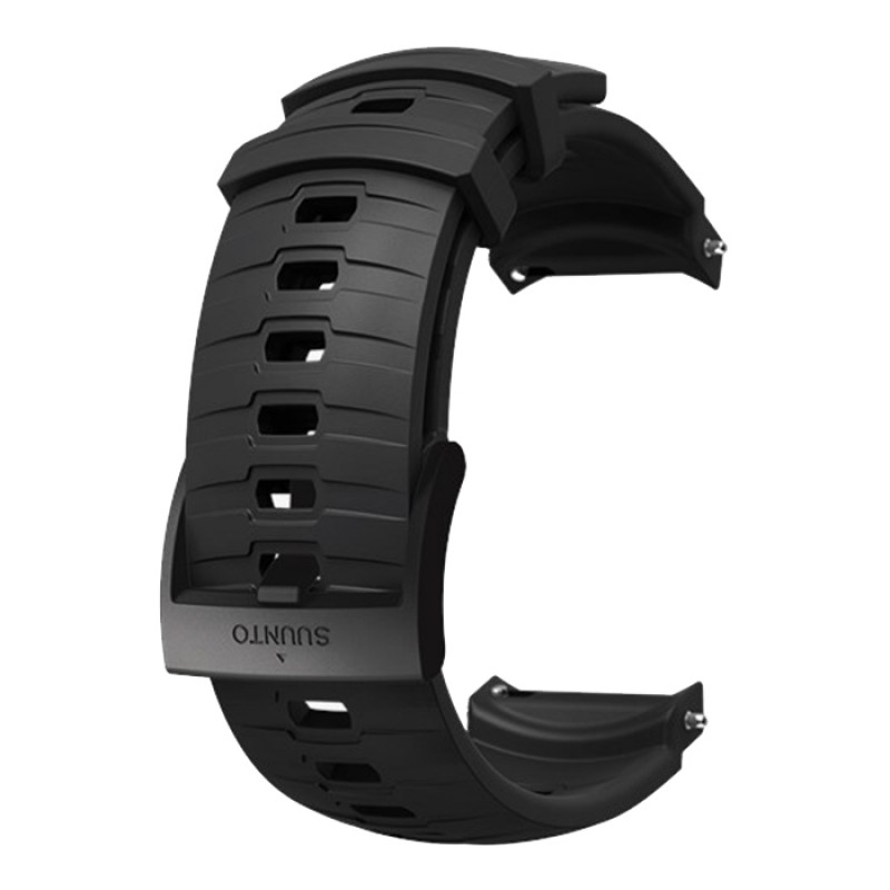 24MM EXPLORE 3 SILICONE STRAP STEALTH/BLACK