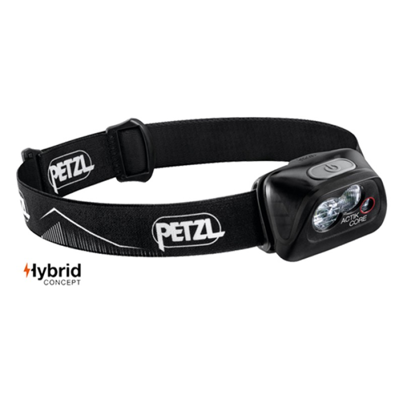 HEADLAMP ACTIK CORE 450 LUMENS BLACK
