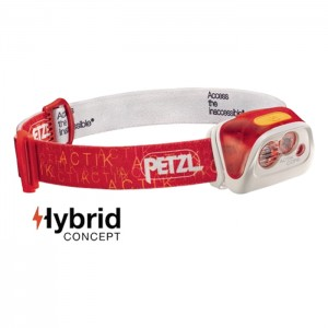 HEADLAMP ACTIK CORE 350 LUMENS RED