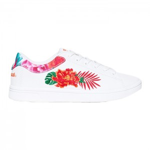 SHOES_RETRO COURT TROPIC WHITE
