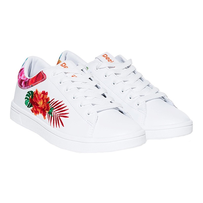 SHOES_RETRO COURT TROPIC BRANCO