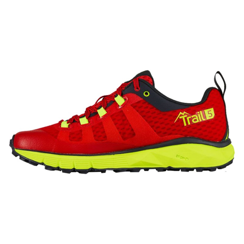 TRAIL 5 W RED/YELLOW