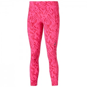 GRAPHIC 7/8 TIGHT W PINK GLOW PALM