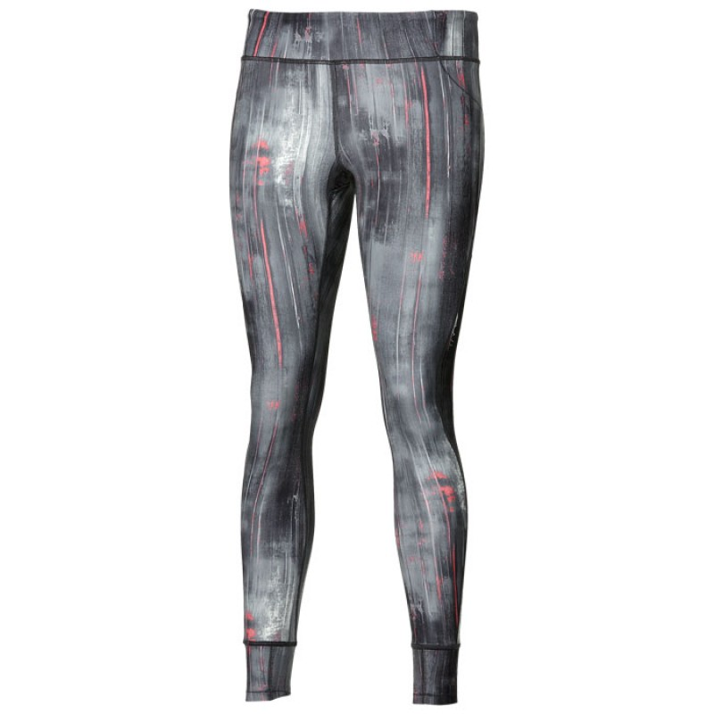 GRAPHIC TIGHT 28'' W BLK/WHT ABSTRACT