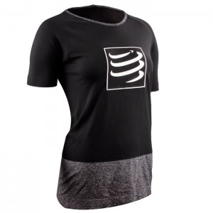 TRAINING TSHIRT SS W BLACK
