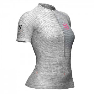 TRAIL POSTURAL SS TOP W GREY