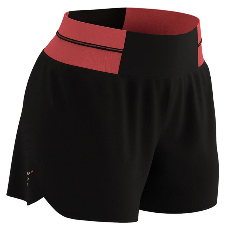 PERFORMANCE OVERSHORT W CORAL