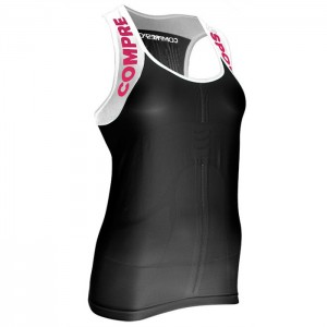 TRAIL RUNNING SHIRT V2 ULTRA TANK W BLACK